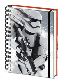 Poster - Star Wars EP7 Stormtrooper Paint