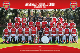 Arsenal FC Team Photo 15-16