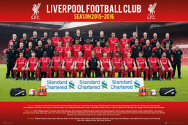 Liverpool FC Fußball - Team Photo 15/16