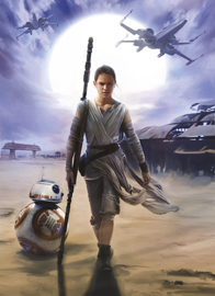 Poster - STAR WARS Rey Disney