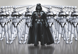 Poster - Star Wars Imperial Force Disne