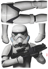 Poster - Star Wars Stormtrooper Disney