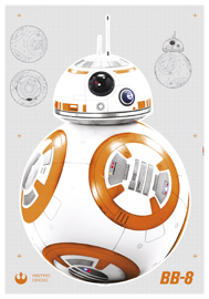 Poster - Star Wars BB-8 Disney