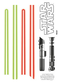 Poster - Star Wars Lightsaber Disney