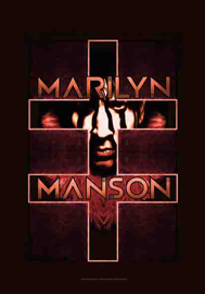 Poster - Manson, Marilyn Double Cross