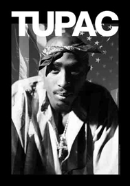 Poster - 2Pac Stars & Stripes