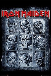 Poster - Iron Maiden Eddies