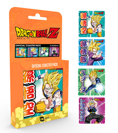Poster - Untersetzer-Set Dragon Ball Z Mix