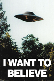 Poster - X-files, The I Want To Believe