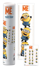 Poster - Messleisten Despicable Me Minions - Stacked