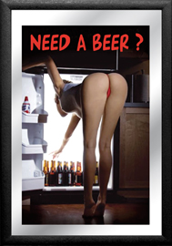 Poster - Girls Need a beer