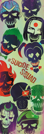 Poster - Suicide Squad Faces