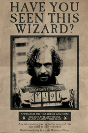 Harry Potter Wanted Sirius Black