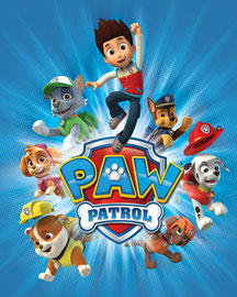 Poster - Paw Patrol Jump