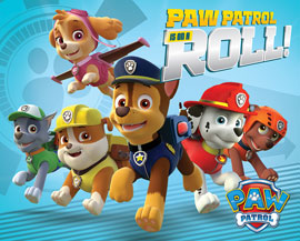 Poster - Paw Patrol On a Roll