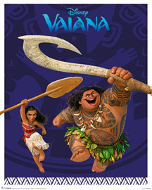 Poster - Vaiana  Action