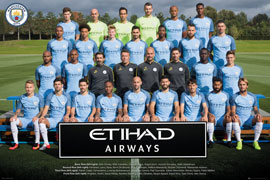 Manchester City Team Photo 16/17