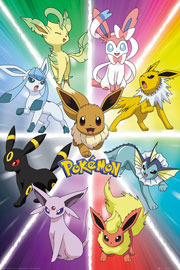 Poster - Pokemon - Pokémon Eevee Evolution