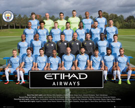 Poster - Manchester City