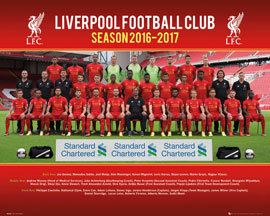 Liverpool FC Fußball - Team Photo 16/17
