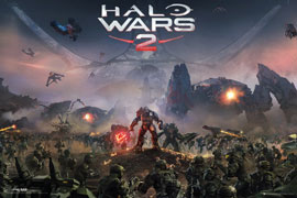 Poster - HALO Wars 2 - Key Art