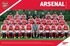Arsenal FC Team 16/17