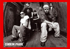 Poster - Linkin Park Band B/W