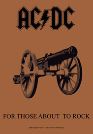 Poster - AC/DC  For those about to rock