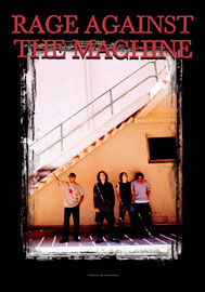 Poster - Rage Against the Machine Stairs