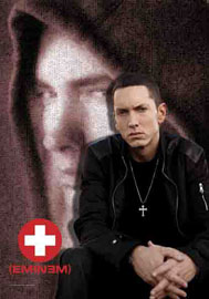 Poster - Eminem Collage