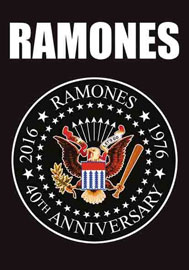Poster - Ramones, The 40th Anniversary Logo