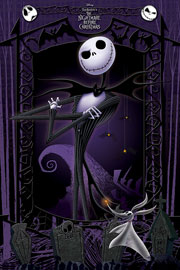 Poster - Nightmare Before Christmas