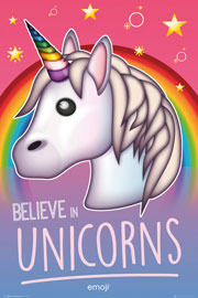 Emoji Believe in Unicorns