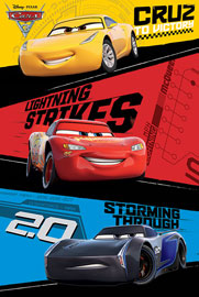 Poster - Cars 3 - Trio