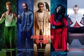 Poster - American Gods Collage