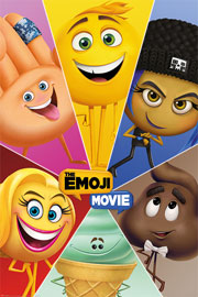 Poster - Emoji Movie,The Star Characters