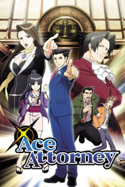 Poster - Ace Attorney Key Art