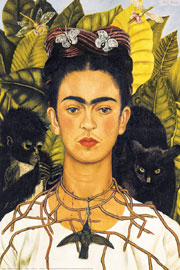 Poster - Kahlo, Frida Jungle