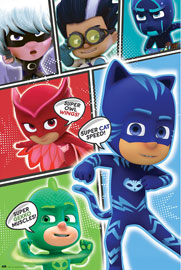 Poster - PJ Masks Pyjamahelden - Cast
