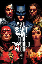 Poster - Justice League Save The World