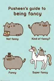 Poster - Pusheen Super Fancy