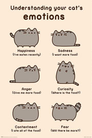 Poster - Pusheen Cats Emotions