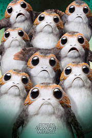 Poster - Star Wars - The Last Jedi  EP8 - Many Porgs