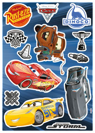 Poster - Cars Disney Decosticker Aufkleber - Cars 3