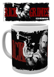 Poster - Walking Dead Rick Graphic