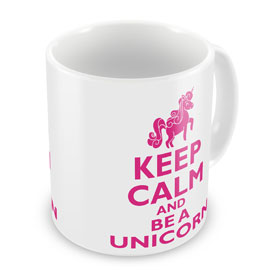 Poster - Unicorn Einhorn Keep Calm and be a Unicorn