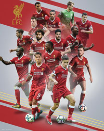 Poster - Fußball Liverpool, FC - Players 17/18