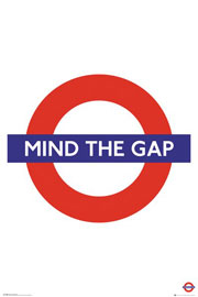 Poster - London Transport - Mind The Gap