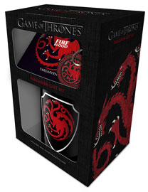 Poster - Geschenk-Set Game of Thrones - Targaryen