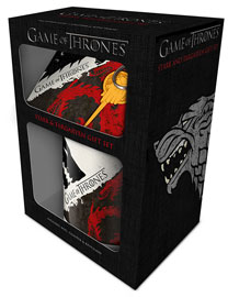 Poster - Geschenk-Set Game of Thrones - Stark & Targaryen